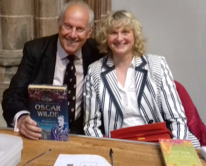 Anne Gaelan with Gyles Brandreth