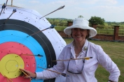 Sophie Neville keeping on target