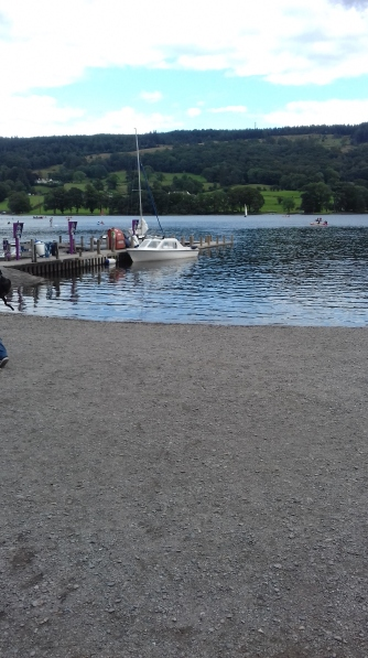 A quay at Coniston