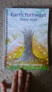 Cover of Bryony 2018 diary (1)
