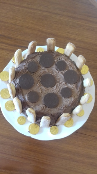 chocolate fortress cake