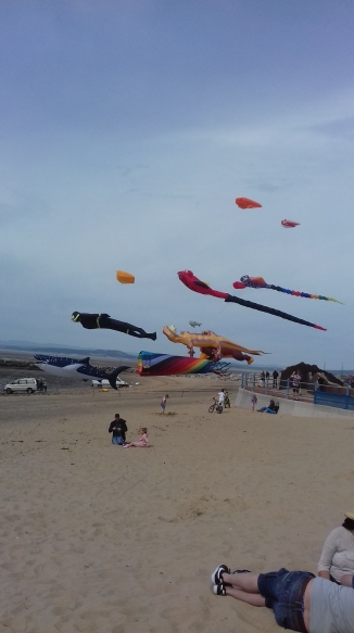 Morecambe's 2018 kite festival