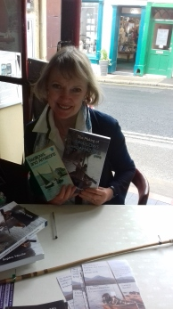 Sophie Neville the President of TARS with her amazing books!